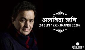 Rishi Kapoor Died: बॉलीवुड एक्टर ऋषि कपूर का 67 वर्ष की उम्र में निधन, मुंबई के चंदनवाड़ी में हुआ अंतिम संस्कार