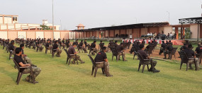 कोरोना से जंग - अर्धसैनिक बलों के जवानों को दिया गया प्रशिक्षण, आवश्यकता पडऩे पर हो सकती है तैनाती