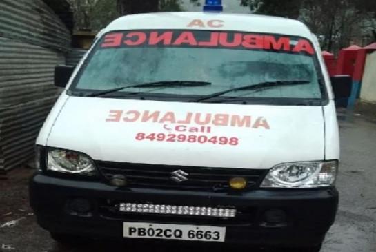 लॉकडाउन: जिंदा शख्स को मृत बताकर एंबुलेंस से जा रहे थे घर, पांच गिरफ्तार