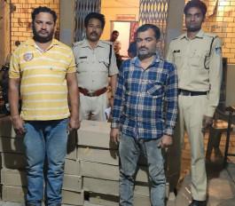 नशीली दवाओं का सौदागर पुलिस के हत्थे चढ़ा- नगदी समेत हजारों की गोलियां जब्त