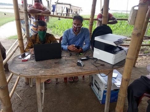 बंद के दौरान बीएसएफ ने जरीधरला ग्रामवासियों को मोबाइल एटीएम के जरिए पहुंचाई मदद (आईएएनएस विशेष)
