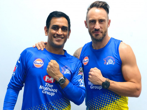 क्रिकेट: डु प्लेसिस ने बताया IPL में धोनी की सफलता का राज