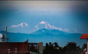 Photo: लॉकडाउन में लौटी प्रकृति की खूबसूरती, सहारनपुर से दिखीं हिमालय की पहाड़ियां