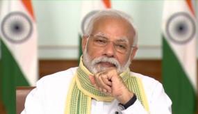 कोविड-19: प्रधानमंत्री ने ग्राम प्रधानों से कहा, काढ़ा पीयो, प्राणायाम करो