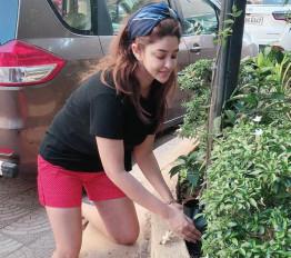 लॉकडाउन डायरी : बागवानी में अपना वक्त बिता रहीं पायल घोष