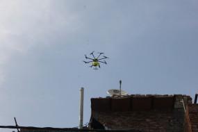 यूपी के हाटस्पॉट इलाकों की निगरानी ड्रोन से