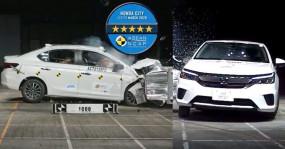 सुरक्षित सिडान: नई Honda City को क्रैश टेस्ट में मिली 5-स्टार रेटिंग
