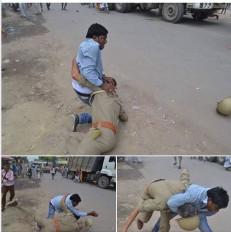 Fake News: क्या लॉकडाउन के बीच पुलिस के साथ हुई मारपीट? जानें वायरल फोटो का सच