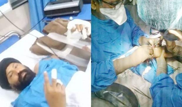 पंजाब: निहंगों के हमले में घायल एएसआई हरजीत सिंह को मिला प्रमोशन, हमले में कट गया था हाथ