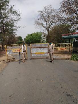 सतना-रीवा की सीमा सील: शार्टकट और चोर रास्तों में लगाई गई पुलिस