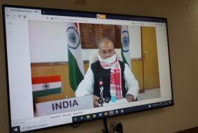 केंद्रीय मंत्री नरेंद्र सिंह तोमर ने जी-20 देशों के कृषि मंत्रियों की बैठक में हिस्सा लिया