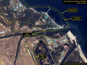 North Korea : वोन्सान कंपाउंड में देखी गई किम जोंग उन की ट्रेन, कल हो सकता है बड़ा ऐलान