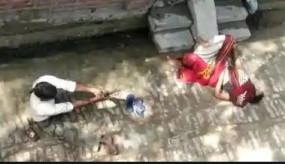 उप्र: कासगंज में घर नहीं बेचा तो दिव्यांग ने महिला को गोली मारी, वीडियो वायरल