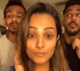 युजवेंद्र चहल ने टीवी स्टार अनीता हसनंदानी से कहा- जन्मदिन मुबारक