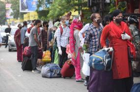 बिहार में 1़20 लाख प्रवासी मजदूरों की हुई वापसी