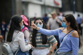 मेक्सिको में एक दिन में कोरोना वायरस के 2409 मामले