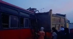 महाराष्ट्र में सड़क दुर्घटना में 3 प्रवासियों की मौत