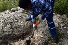 मेक्सिको में कोविड-19 से मरने वालों के लिए 300 अचिह्न्ति कब्रें तैयार