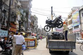 दिल्ली में लॉकडाउन के दौरान 38,943 वाहन जब्त