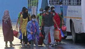 Lockdown: कोटा से डीटीसी की बसों के जरिये दिल्ली पहुंचे 480 छात्र