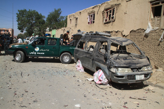 अफगानिस्तान के गजनी में तालिबान हमले में 7 की मौत