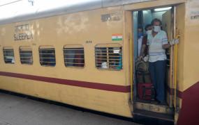 80 प्रतिशत श्रमिक विशेष ट्रेनें उप्र, बिहार गईं : रेलवे