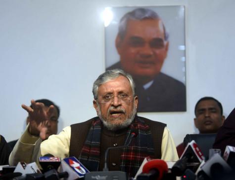 बिहार में राजस्व संग्रह में 82.29 फीसदी की कमी : सुशील मोदी