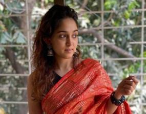 ईद पर आमिर की बेटी इरा ने पहनी साड़ी