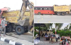 Accident: महाराष्ट्र में ट्रक से टकराई बस, 4 प्रवासी मजदूरों की मौत, 25 घायल