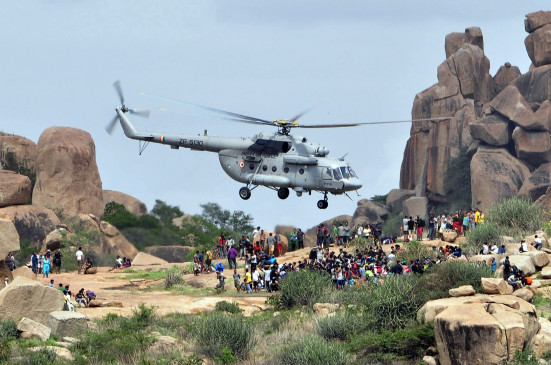 सिक्किम: तकनीकी खराबी के कारण वायुसेना के हेलीकॉप्टर की अपात लैंडिंग