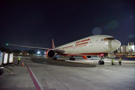 लंदन से 145 भारतीयों को लेकर आया एयर इंडिया का विमान विजयवाड़ा में उतरा