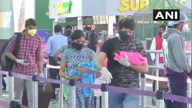 विमान सेवा शुरू: पहले दिन 532 विमानों में करीब 40 हजार लोगों ने किया सफर, 630 उड़ानें रद्द होने से यात्रियों ने नाराजगी जताई