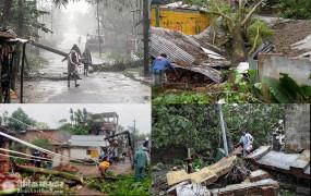 Amphan: चक्रवाती तूफान का तांडव, बंगाल में 72 और ओडिशा में तीन लोगों की मौत, तस्वीरों में देखें तबाही का मंजर