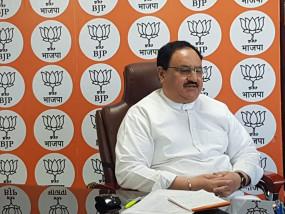 भाजपा अध्यक्ष जेपी नड्डा बोले, मोदी के नेतृत्व में भारत कोरोना से जंग जीतकर ही दम लेगा