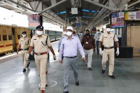 औरंगाबाद हादसे में मारे गए 16 मजदूरों के शव जबलपुर लाए गए - स्पेशल ट्रेन से शहडोल रवाना