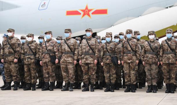 चीनी सेना ने नेपाल की सेना को महामारी विरोधी सामग्री की सहायता दी