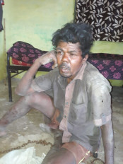 नशे में धुत पति ने की पत्नी की हत्या - आरोपी गिरफ्तार