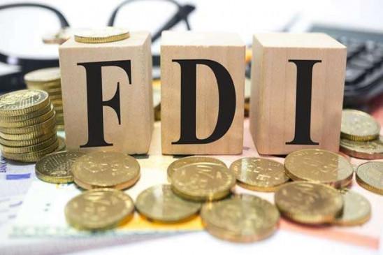 भारत में FDI 2019-20 में 13 फीसद बढ़कर रिकॉर्ड 50 अरब डॉलर के करीब