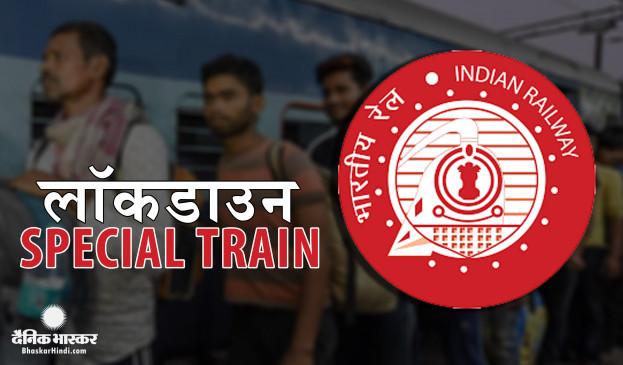 Covid-19: मजदूरों की घर वापसी शुरू, तेलंगाना से 24 कोच वाली स्पेशल ट्रेन झारखंड रवाना