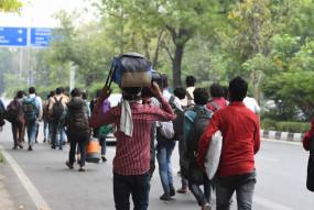 घर वापसी की जंग: आंध्र के रास्ते सील, तमिलनाडु की सीमा पर फंसे सैंकड़ों मजदूर