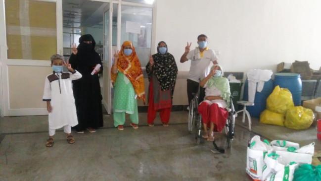 जबलपुर में अब तक 85 लोग कारोना संक्रमण से स्वस्थ्य हो चुके - कुल संक्रमित 168