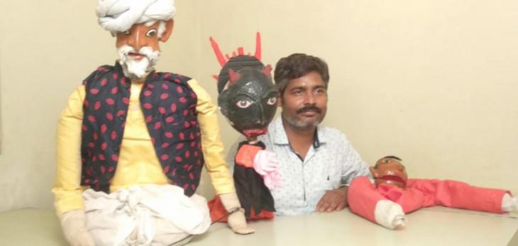 झारखंड : लोक कलाकार कोरोना की जंग में कला के जरिए फैला रहे जागरूकता