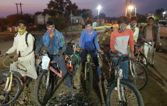 बेबसी का सफर : गैस हादसे के बाद रहना हो रहा था मुश्किल, 600 किमी का सफर तय कर पहुंचे अनूपपुर