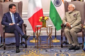 कोविड-19 : प्रधानमंत्री मोदी ने इटली के अपने समकक्ष के साथ की चर्चा