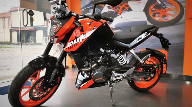 बाइक: Ktm 200 Duke की कीमत में हुआ इजाफा, जानें इस बाइक की नई कीमत