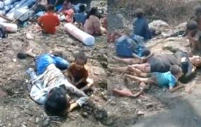 दुखद: मृत मां के शव के साथ घंटों खेलते रहे बच्चे, जानें छतरपुर-सागर हाईवे पर हादसे का सच