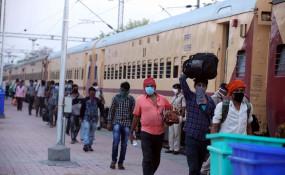 मप्र में अबतक 100 ट्रेनों से एक लाख 34 हजार श्रमिकों की घर वापसी