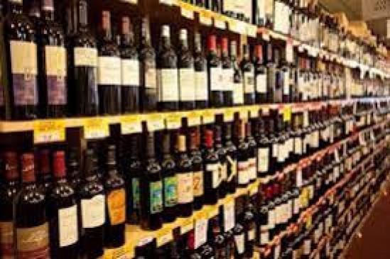 लॉकडाउन में खुली नई शराब की दुकान , लोगों ने किया हंगामा