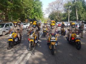 पुलिस ने बदला गश्त का तरीका, क्राइम रोकने दो मोटर साईकल पुलिसकर्मी चलेंगे साथ