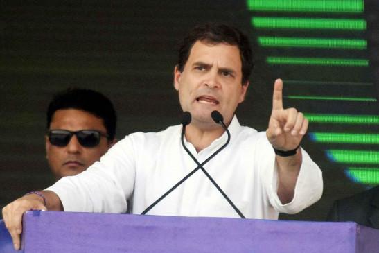 राहुल गांधी ने जल्द वापसी न करने के दिए संकेत